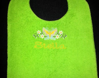 Butterfly Bib for the Fashionable Senior Lady