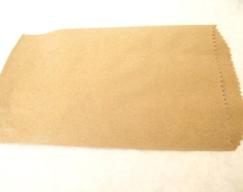 Brown  paper merchandise bags  - party favor bags, wedding favor bags, gift bags, paper bags, soap packaging