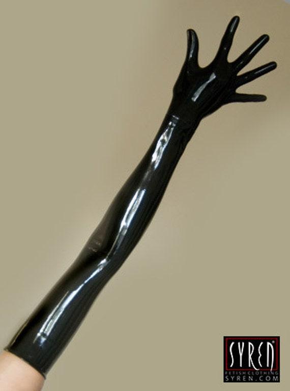 Latex glove fetish