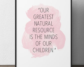 Greatest Natural Resource Picture Walt Disney Quotes