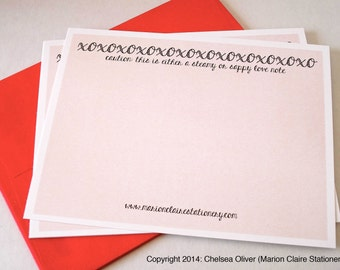 Love Notes - Notecards - Steamy & Sappy