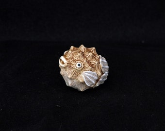 Miniature Netsuke Style Fugu Fish