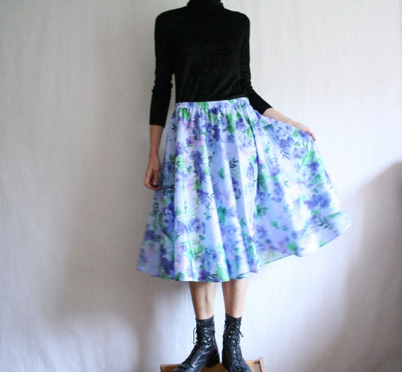 how to make a full circle skirt with elastic waist