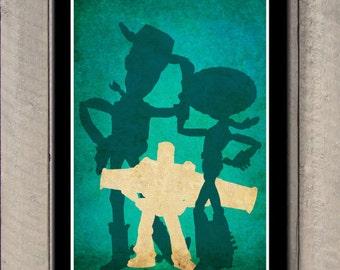 Disney Pixar movie poster - Toys Story