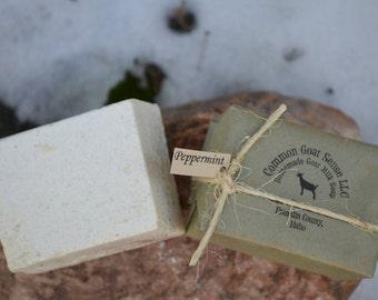 Peppermint Goat Milk Castile Soap