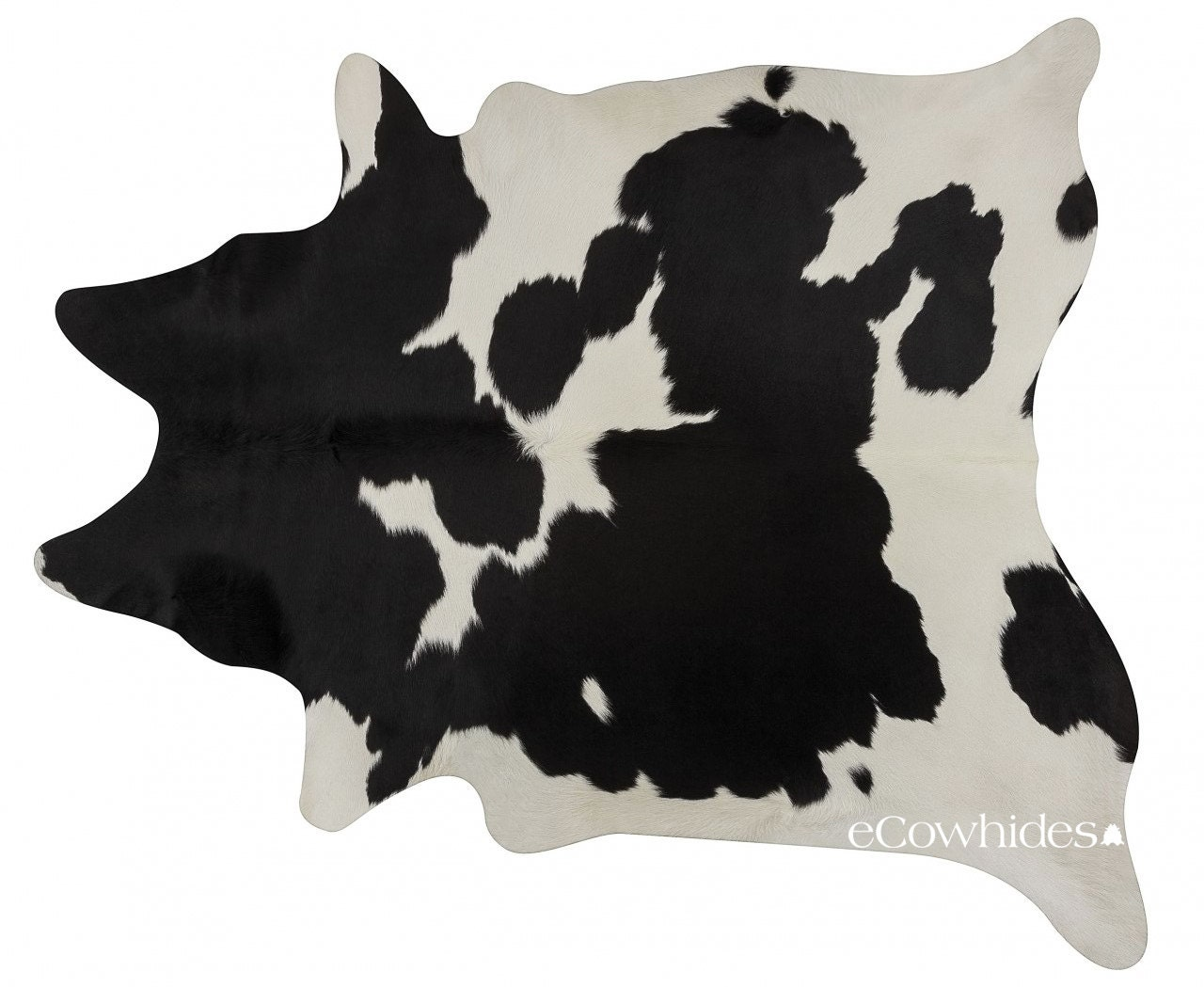 Black And White Brazilian Cowhide Rug Cow Hide Rugs Large