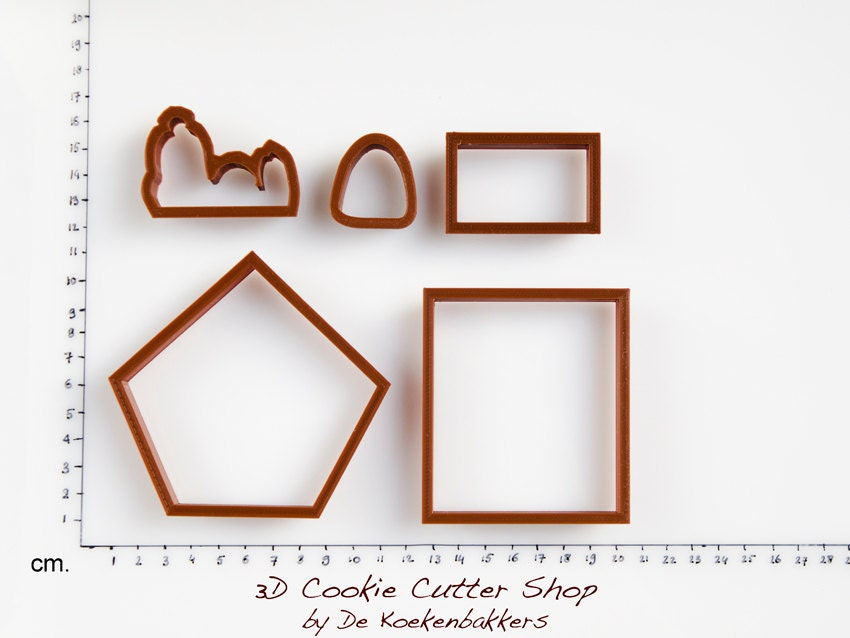 How to make a snoopy dog house 28 images how to make a for Cookie cutter house plans