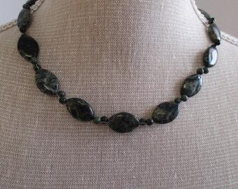 Kambaba jasper necklace