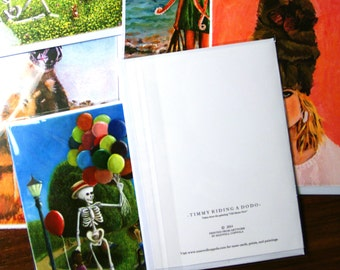 Surreal greeting card 5 pack - Pick your own - with envelopes individually wrapped