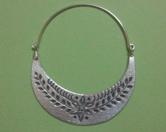 Dangle Original Earrings Silver Hand Made Hill Tribe from Thailand
