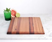 2067_40 - 300mm x 300mm - Architecturally designed cutting boards, handcrafted from repurposed timber