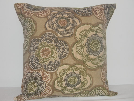 Outdoor pillow covers 1 Decorative throw pillow by SewIsaacson