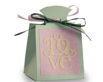 """Box door confetti """"Love"""""""