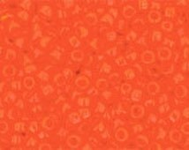 TOHO Size 15 Seed Beads - Opaque Sunset Orange - Pack 5 grams - 15/50A