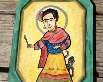 Retablo of Frida Kahlo