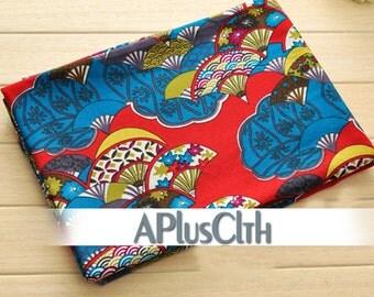 red linen fabric,blue linen cotton fabric,fanshape print fabric,floral linen fabric,natural linen fabric,modern floral fabric,drapery fabric