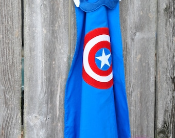 CUSTOM Embellished Superhero Cape with Mask