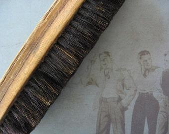 Vintage Wooden Shoe Brush