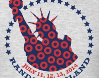 Phish 2014 Tour Randall's Island Lot Shirt | Men's