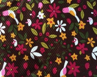 Retro Bird Fabric