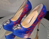 Transformers Optimus Prime Shoes, Women Heels