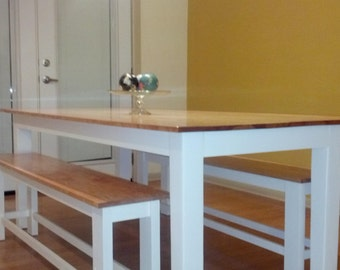 """The """"Stockade"""" Dining / Kitchen Table"""
