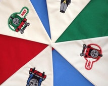 Personalised Made to Order Thomas the Tank Fabric Bunting