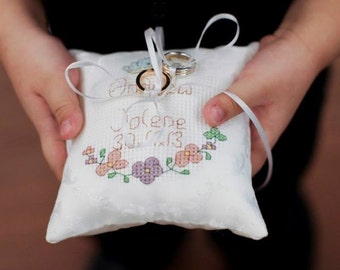 Handmade Ring Pillow - Customised (RP-01)