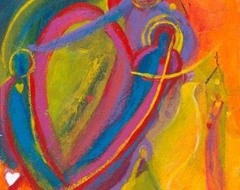 For Linda.  Christian ART PRINT