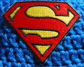 SUPERMAN Iron on Patch, Badge, Applique.