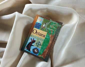 Ostara (Spring Equinox) Quilt ACEO