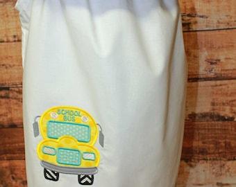 Bus Back to School Dress, Back to School Dress