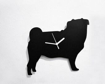 Pug Dog - Wall Clock