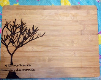 Tree Wedding Cutting Board