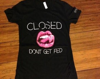 Women's Closed Mouth Tee