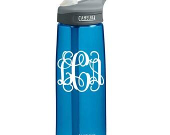Free Monogram on Camelbak Water Bottle (.75L Eddy)