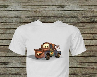 Tow Mater Iron On Transfer DIY Instat Download