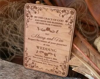 country wedding invitations 25 wood wedding invitations unique wedding invitation vintage