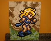SALE - 10% off - Chrono Trigger (Super Nintendo) Ayla Pixel Painting 16x20