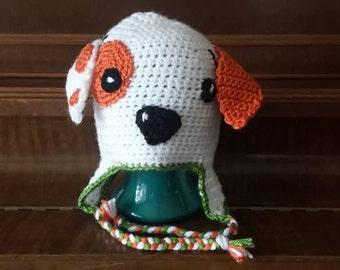 Crocheted Bubble Guppies Puppy Hat-Newborn to 12 Months