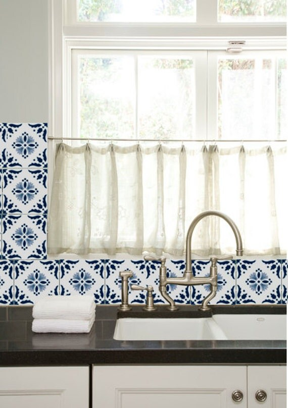 Https Www Etsy Com Listing 193877129 Kitchen Bathroom Tile Decals Vinyl