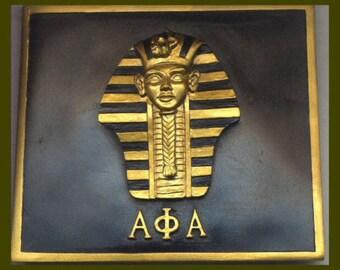 Alpha Kappa Alpha Leaf Art Plaque By Devotedgreek On Etsy