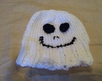 Halloween crochet beanie