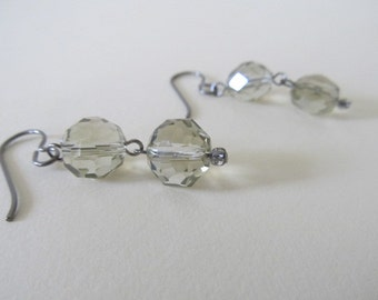 SUMMER CLEARANCE SALE-Champagne Bubbles Earrings