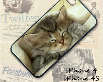 Kitten cell phone Case / Cover for iPhone 4, 5, Samsung S3, HTC One X, Blackberry 9900, iPod touch 4 / 148