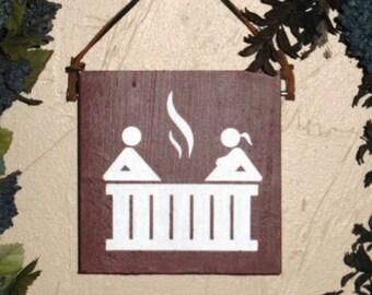 Hot Tub Sign