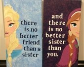 Elsa and Anna: no better friend then a sister