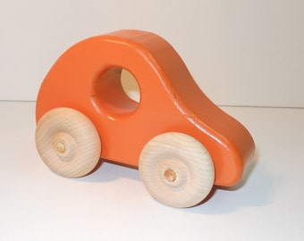 Toy Wooden Car Bug