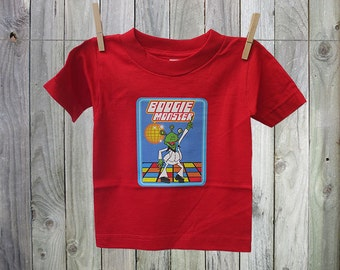 Fun and Funky Boogie Monster Tshirt for Kids. Perfect for Boys!
