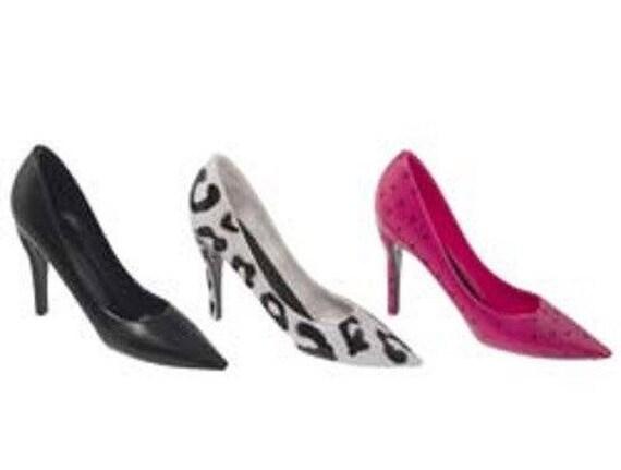 items similar to set of 3 stiletto high heel shoe cake